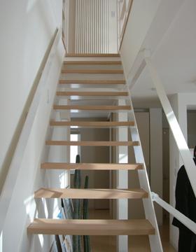 開放感あふれる『リビング階段』